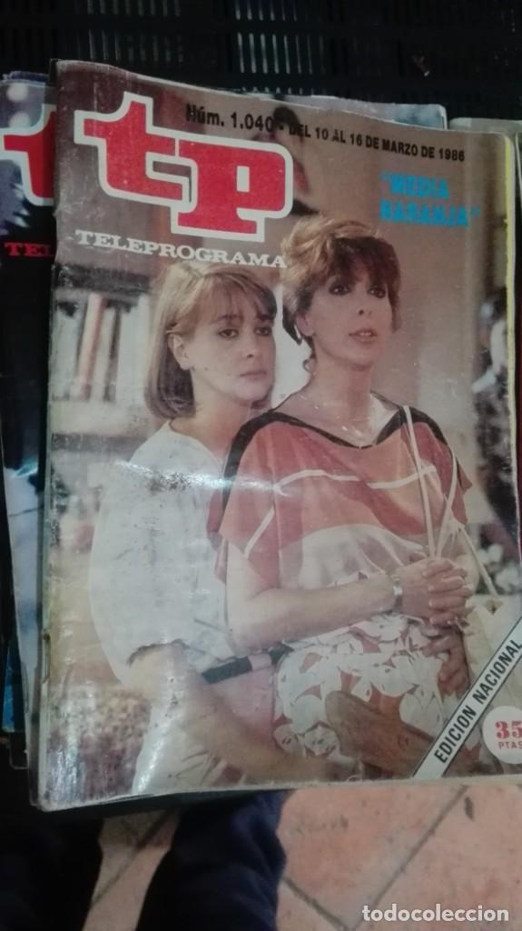 TP TELEPROGRAMA Nº 1040 - 1986 - MEDIA NARANJA (Coleccionismo - Revistas y Periódicos Modernos (a partir de 1.940) - Revista TP ( Teleprograma ))