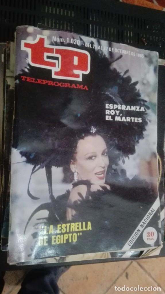 REVISTA TP TELEPROGRAMA Nº 1020 LA ESTRELLA DE EGIPTO (Coleccionismo - Revistas y Periódicos Modernos (a partir de 1.940) - Revista TP ( Teleprograma ))