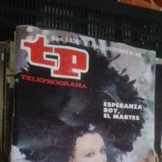 Coleccionismo de Revista Teleprograma: REVISTA TP TELEPROGRAMA Nº 1020 LA ESTRELLA DE EGIPTO. Lote 147000990