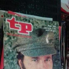 Coleccionismo de Revista Teleprograma: REVISTA TP TELEPROGRAMA Nº 944 EL PIRATA. Lote 147001178