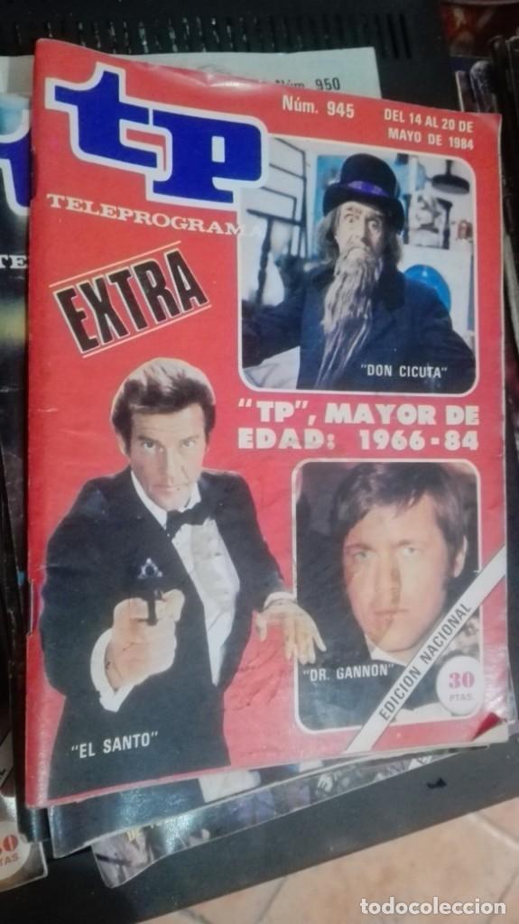 TP TELEPROGRAMA Nº 945 - MAYO 1984 - EDICION BARCELONA- EXTRA (Coleccionismo - Revistas y Periódicos Modernos (a partir de 1.940) - Revista TP ( Teleprograma ))