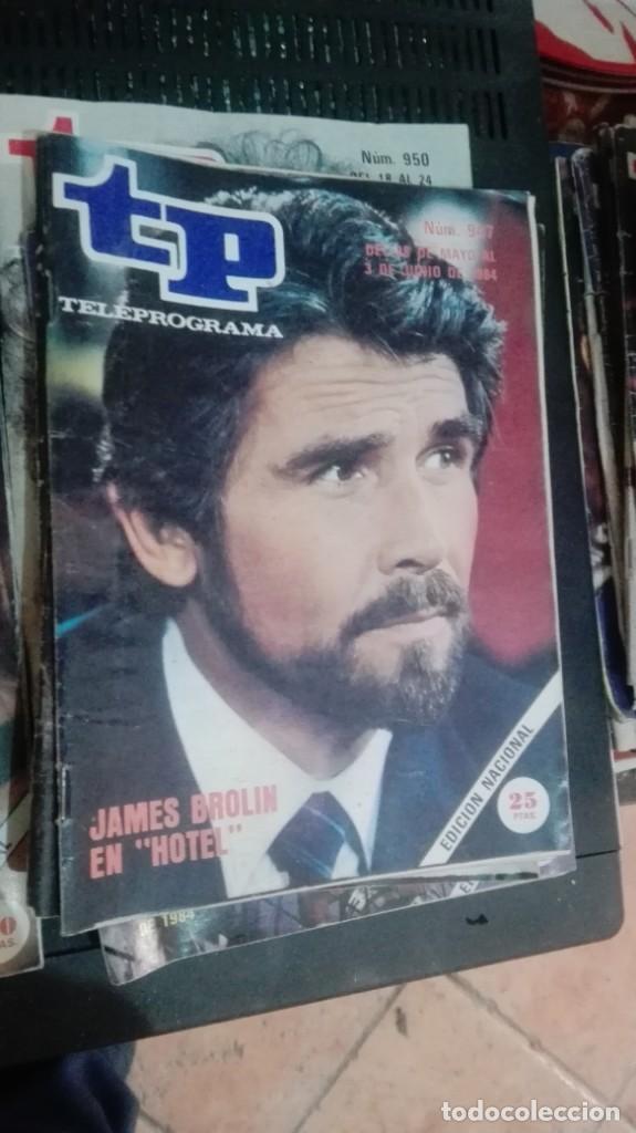 TP TELEPROGRAMA 947 HOTEL - JAMES BROLIN (1984) (Coleccionismo - Revistas y Periódicos Modernos (a partir de 1.940) - Revista TP ( Teleprograma ))