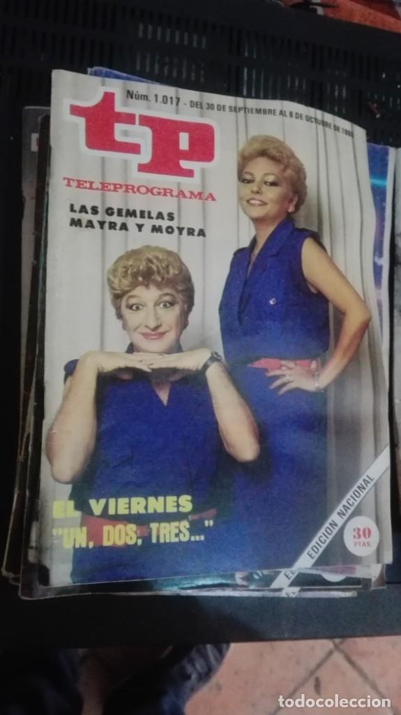 TP TELEPROGRAMA Nº 1017 - 1985 - UN, DOS, TRES (Coleccionismo - Revistas y Periódicos Modernos (a partir de 1.940) - Revista TP ( Teleprograma ))