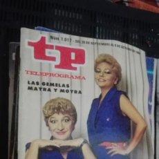 Coleccionismo de Revista Teleprograma: TP TELEPROGRAMA Nº 1017 - 1985 - UN, DOS, TRES. Lote 147001986