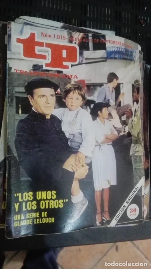 TP TELEPROGRAMA Nº 1015 - 1985 - LOS UNOS Y LOS OTROS (Coleccionismo - Revistas y Periódicos Modernos (a partir de 1.940) - Revista TP ( Teleprograma ))