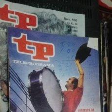 Coleccionismo de Revista Teleprograma: TP TLEPROGRAMA Nº 949 DE JUNIO DE 1984 EUROCOPA 84 MANOLO EL DEL BOMBO. Lote 147002794