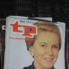 Coleccionismo de Revista Teleprograma: TP TELEPROGRAMA Nº 1012 - 1985 - TODA UNA MUJER. Lote 147003250