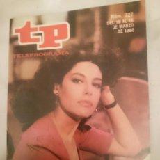 Coleccionismo de Revista Teleprograma: TP TELEPROGRAMA N 727 -DEL 10 AL 16 MARZO 1980 - CHARO LOPEZ EN MARIBEL Y LA EXTRAÑA FAMILIA. Lote 147003670
