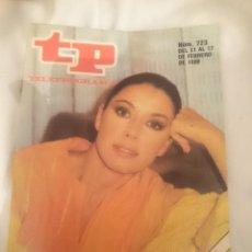 Coleccionismo de Revista Teleprograma: TP TELEPROGRAMA N 723 -DEL 11 AL 17 FEBRERO 1980 - MONICA RANDALL. Lote 147003946