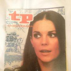 Coleccionismo de Revista Teleprograma: TP TELEPROGRAMA N 722 -DEL 4 AL 10 FEBRERO 1980 - NATALIE WOOD -DE AQUI A LA ETERNIDAD. Lote 147004054