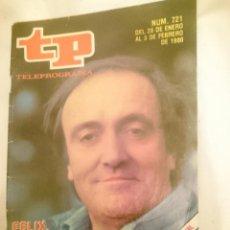 Coleccionismo de Revista Teleprograma: TP TELEPROGRAMA N 721 -DEL 28 ENERO AL 3 FEBRERO 1980 - FELIX RODRIGUEZ DE LA FUENTE. Lote 147004226