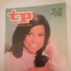 Coleccionismo de Revista Teleprograma: TP TELEPROGRAMA N 720 -DEL 21 AL 27 ENERO 1980 - LA CHICA DE LA TELE. Lote 147004522