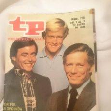 Coleccionismo de Revista Teleprograma: TP TELEPROGRAMA N 718 -DEL 7 AL 13 ENERO 1980 -POR FIN LA SEGUNDA PARTE DE HOMBRE RICO HOMBRE POBRE. Lote 147004686
