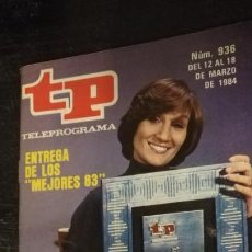 Coleccionismo de Revista Teleprograma: ANTITUA REVISA O SUPLEMENTO TV - TP - TELEPROGRAMAS - VER PORTADA - ESCUCHO OFERTAS. Lote 147438894