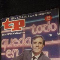 Coleccionismo de Revista Teleprograma: ANTITUA REVISA O SUPLEMENTO TV - TP - TELEPROGRAMAS - VER PORTADA - ESCUCHO OFERTAS. Lote 147438954
