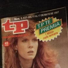 Coleccionismo de Revista Teleprograma: ANTIGUA REVISTA SUPLEMENTO TV - TP - TELEPROGRAMAS - VER PORTADA - ESCUCHO OFERTAS. Lote 147439030