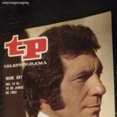 Coleccionismo de Revista Teleprograma: ANTIGUA REVISTA SUPLEMENTO TV - TP - TELEPROGRAMAS - VER PORTADA - ESCUCHO OFERTAS. Lote 147439086