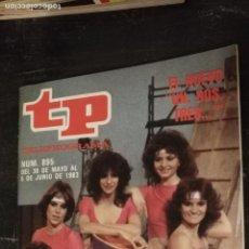Coleccionismo de Revista Teleprograma: ANTIGUA REVISTA SUPLEMENTO TV - TP - TELEPROGRAMAS - VER PORTADA - ESCUCHO OFERTAS. Lote 147439190