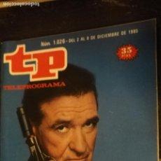 Coleccionismo de Revista Teleprograma: ANTIGUA REVISTA SUPLEMENTO TV - TP - TELEPROGRAMAS - VER PORTADA - ESCUCHO OFERTAS. Lote 147439250