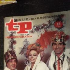 Coleccionismo de Revista Teleprograma: ANTIGUA REVISTA SUPLEMENTO TV - TP - TELEPROGRAMAS - VER PORTADA - ESCUCHO OFERTAS. Lote 147439362