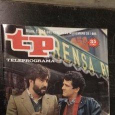 Coleccionismo de Revista Teleprograma: ANTIGUA REVISTA SUPLEMENTO TV - TP - TELEPROGRAMAS - VER PORTADA - ESCUCHO OFERTAS. Lote 147439814