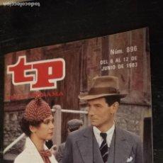 Coleccionismo de Revista Teleprograma: ANTIGUA REVISTA SUPLEMENTO TV - TP - TELEPROGRAMAS - VER PORTADA - ESCUCHO OFERTAS. Lote 147439858