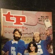 Coleccionismo de Revista Teleprograma: ANTIGUA REVISTA SUPLEMENTO TV - TP - TELEPROGRAMAS - VER PORTADA - ESCUCHO OFERTAS. Lote 147439902
