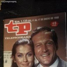 Coleccionismo de Revista Teleprograma: ANTIGUA REVISTA SUPLEMENTO TV - TP - TELEPROGRAMAS - VER PORTADA - ESCUCHO OFERTAS. Lote 147439950