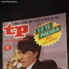 Coleccionismo de Revista Teleprograma: ANTIGUA REVISTA SUPLEMENTO TV - TP - TELEPROGRAMAS - VER PORTADA - ESCUCHO OFERTAS. Lote 147440062