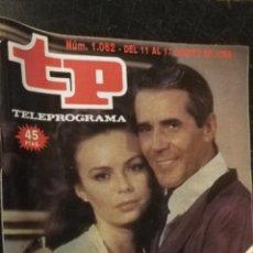Coleccionismo de Revista Teleprograma: ANTIGUA REVISTA SUPLEMENTO TV - TP - TELEPROGRAMAS - VER PORTADA - ESCUCHO OFERTAS. Lote 147440158