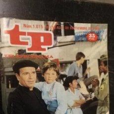 Coleccionismo de Revista Teleprograma: ANTIGUA REVISTA SUPLEMENTO TV - TP - TELEPROGRAMAS - VER PORTADA - ESCUCHO OFERTAS. Lote 147440218