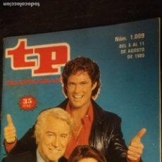 Coleccionismo de Revista Teleprograma: ANTIGUA REVISTA SUPLEMENTO TV - TP - TELEPROGRAMAS - VER PORTADA - ESCUCHO OFERTAS. Lote 147440334