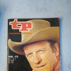 Coleccionismo de Revista Teleprograma: TP TELEPROGRAMA N 478 JUNIO 1975. Lote 148498110