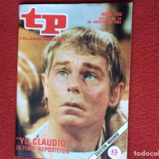Coleccionismo de Revista Teleprograma: REVISTA TP 750 YO CLAUDIO 1980 TELEPROGRAMA. Lote 148557054