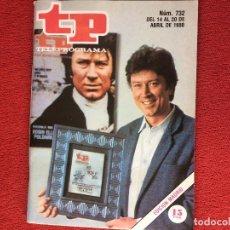 Coleccionismo de Revista Teleprograma: REVISTA TP 732 POLDARK ROBIN ELLIS. Lote 150520222