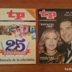 Coleccionismo de Revista Teleprograma: TP 25 ANIVERSARIO. Lote 151248618