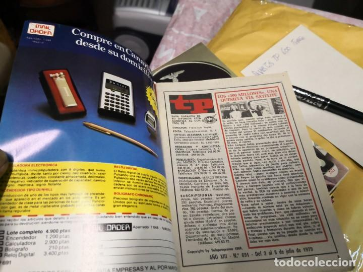 Coleccionismo de Revista Teleprograma: REVISTA TP TELEPROGRAMA Nº 691 LOS ROPER - Foto 3 - 151333850