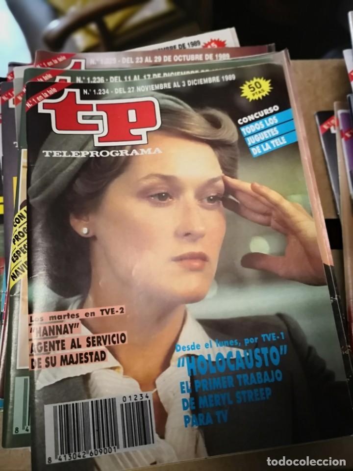 Coleccionismo de Revista Teleprograma: 38 números revista tp ver fotos indicativa de números incluidos - Foto 2 - 151358998