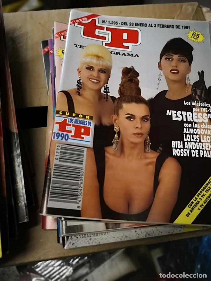 Coleccionismo de Revista Teleprograma: 38 números revista tp ver fotos indicativa de números incluidos - Foto 3 - 151358998