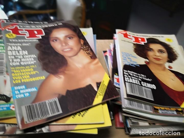 38 NÚMEROS REVISTA TP VER FOTOS INDICATIVA DE NÚMEROS INCLUIDOS (Coleccionismo - Revistas y Periódicos Modernos (a partir de 1.940) - Revista TP ( Teleprograma ))