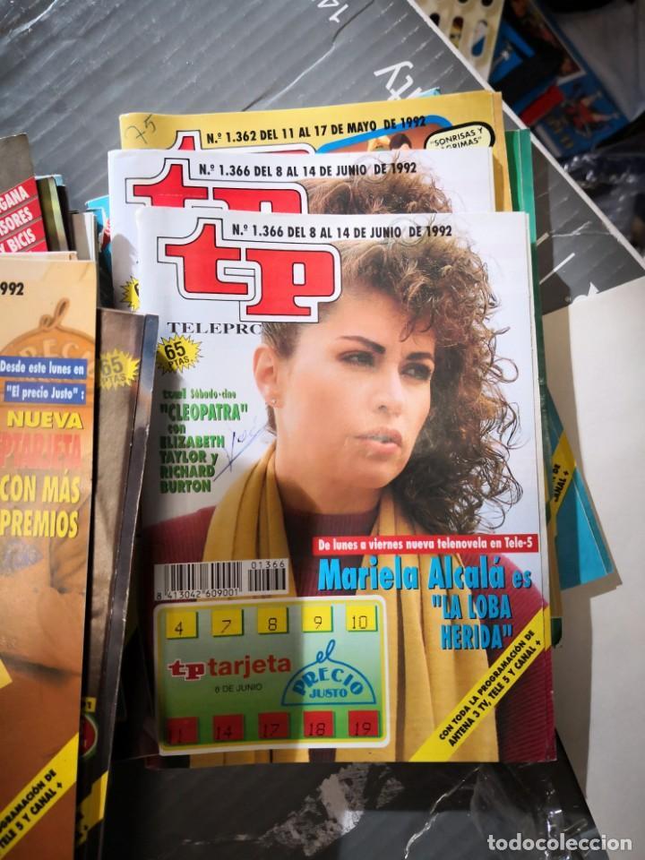 27 NÚMEROS REVISTA TP VER FOTOS INDICATIVA DE NÚMEROS INCLUIDOS (Coleccionismo - Revistas y Periódicos Modernos (a partir de 1.940) - Revista TP ( Teleprograma ))