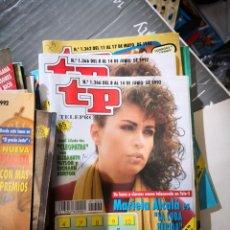 Coleccionismo de Revista Teleprograma: 27 NÚMEROS REVISTA TP VER FOTOS INDICATIVA DE NÚMEROS INCLUIDOS. Lote 151359562