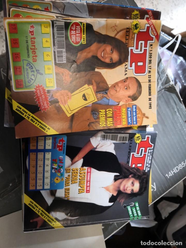 Coleccionismo de Revista Teleprograma: 27 números revista tp ver fotos indicativa de números incluidos - Foto 3 - 151359562