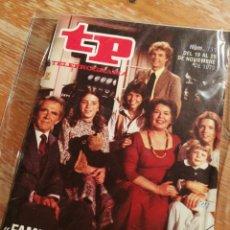 Coleccionismo de Revista Teleprograma: TP TELEPROGRAMA N°711- FAMILIA, 1979.. Lote 151529172