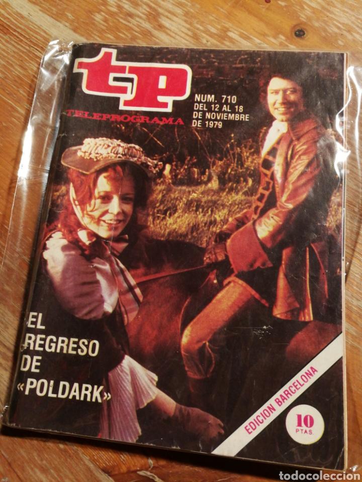 TP TELEPROGRAMA N°710- POLDARK, 1979. (Coleccionismo - Revistas y Periódicos Modernos (a partir de 1.940) - Revista TP ( Teleprograma ))