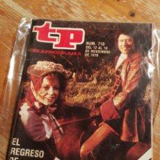 Coleccionismo de Revista Teleprograma: TP TELEPROGRAMA N°710- POLDARK, 1979.. Lote 151529281