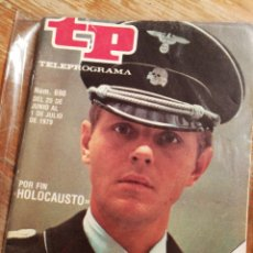 Coleccionismo de Revista Teleprograma: TP TELEPROGRAMA N°690- HOLOCAUSTO, 1979.. Lote 151529492