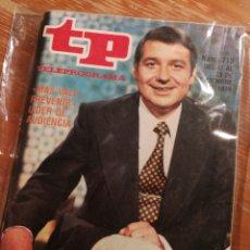 Coleccionismo de Revista Teleprograma: TP TELEPROGRAMA N°715- MAS VALE PREVENIR, 1979.. Lote 151530986