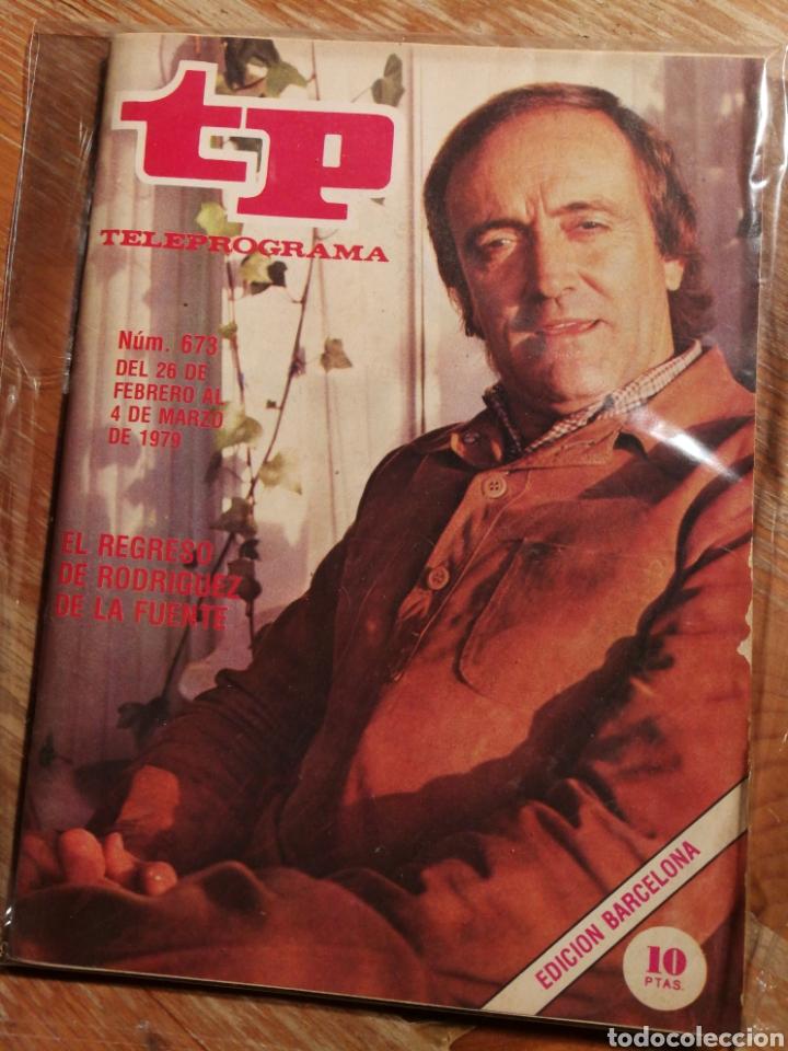 TP TELEPROGRAMA N°673- FELIX RODRIGUEZ DE LA FUENTE, 1979. (Coleccionismo - Revistas y Periódicos Modernos (a partir de 1.940) - Revista TP ( Teleprograma ))