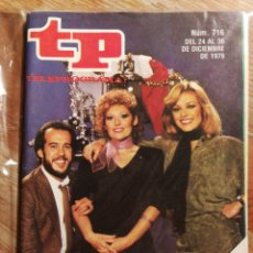 Coleccionismo de Revista Teleprograma: TP TELEPROGRAMA N°716- FELIZ APLAUSO, 1979.. Lote 151534030